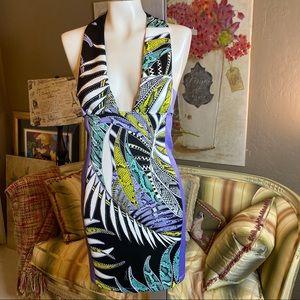 Just Roberto Cavalli Body Con Dress 40 NWT